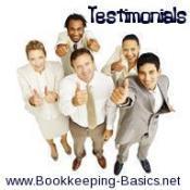 Bookkeeping Testimonials
