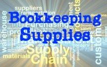 Bookkeeping Supplies