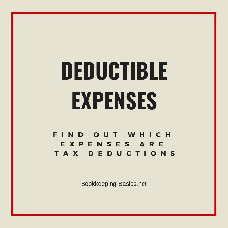 Deductible Expenses
