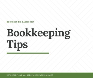 Bookkeeping Tips
