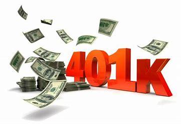 401k Income Tax Question