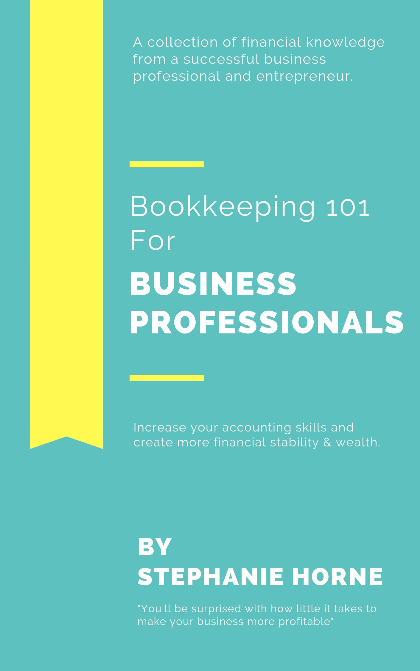 Bookkeeping 101 E-Book