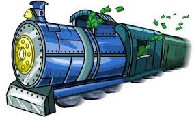 Accountant Boarding Train