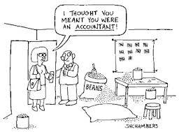 Accounting Jokes Bean Counter