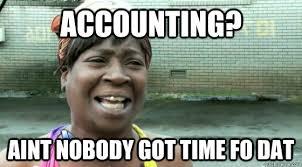 Accounting Meme