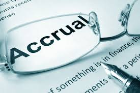 Accrual Accounting For Future Event