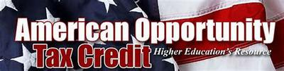 American Opportunity Income Tax Credit