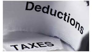 Tax Payments Income Tax Deductible