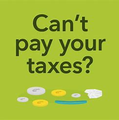 Can't Pay Income Taxes