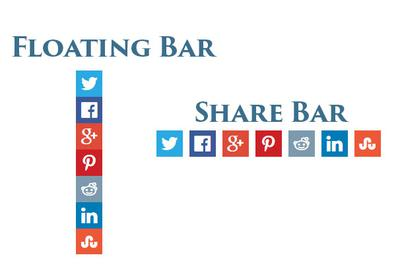 Floating Share Bar