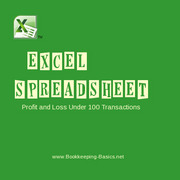 Excel Spreadsheet Under 100 Transactions