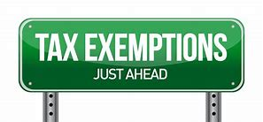 Exemption Income Tax Question