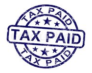 Income Tax Payment on Balance Sheet