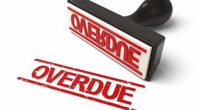 Overdue Accounts Receivable
