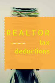 Realtor Tax Deductions