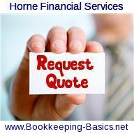 Request A Bookkeeping Quote