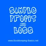 Sample Quickbooks Profit and Loss Statement