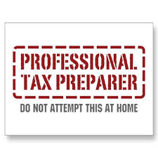 Section 125 Tax Preparer Income Tax Question
