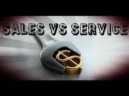 Service Vs Sales Business Classification