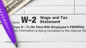 W2 Income Tax Deduction