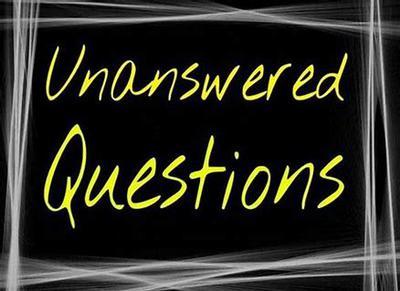 1099 Unanswered Tax Question