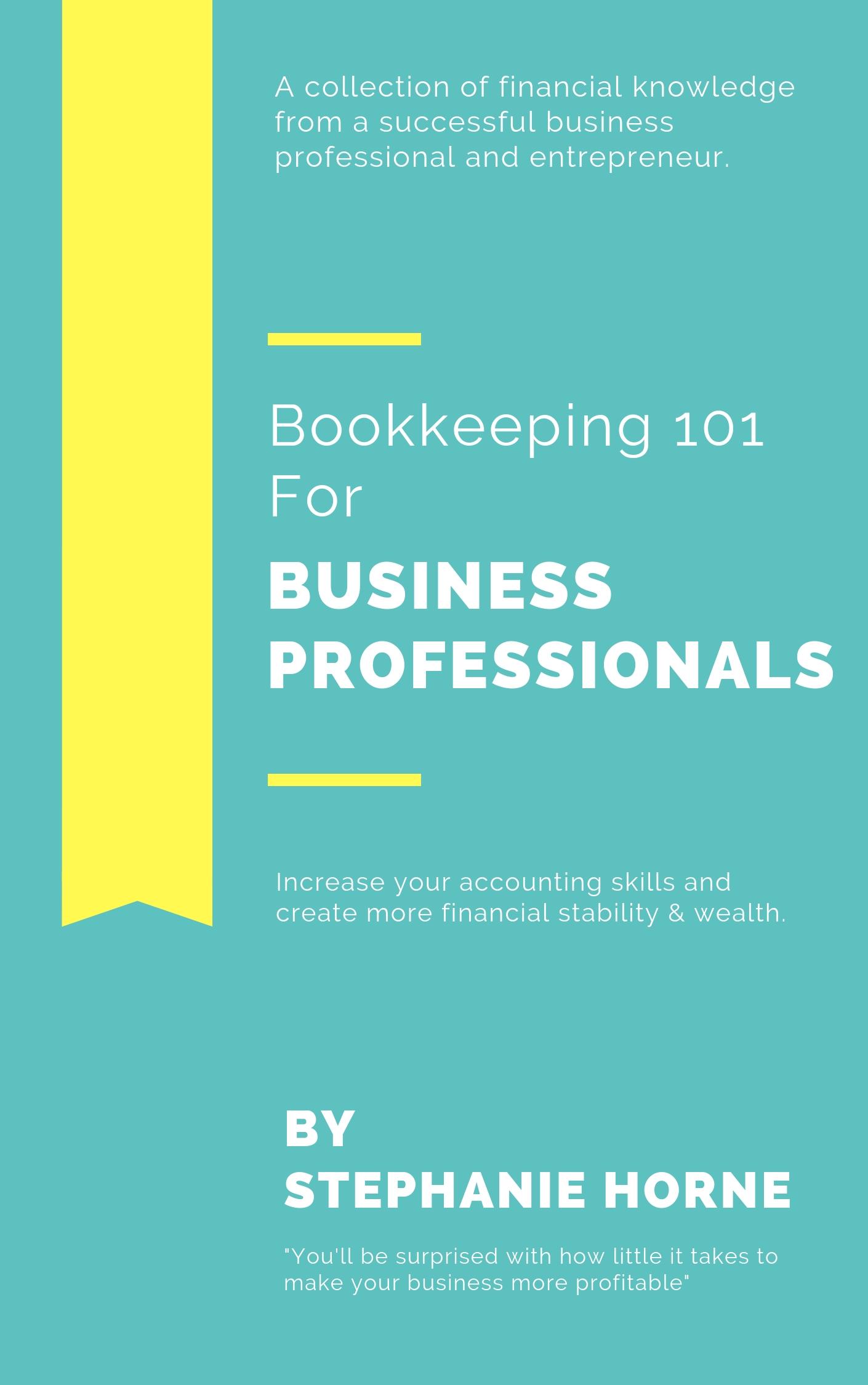 Bookkeeping 101 E-Book