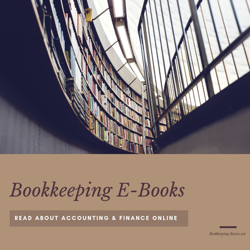 Bookkeeping E-Books