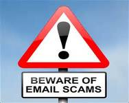 New Email Scam IRS Warning For Taxpayers