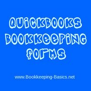 Quickbooks Bookkeeping Forms