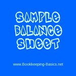 Sample Quickbooks Balance Sheet